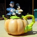 Wallace and Gromit Pumpkin Teapot